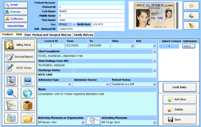 Electronic Medical Records - SOAP Notes - Medical Appointment Scheduling - Medical Billing software